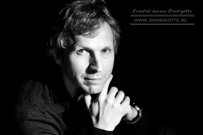 Portretfoto Paul door Martien Versteegh - praktijkles Fotoacademie